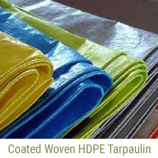 Coated Woven HDPE Tarpaulin Manufacturers, Ahmedabad Gujarat India
