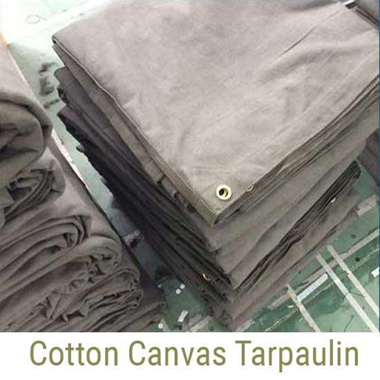 Cotton Canvas Tarpaulin Manufacturers - UK